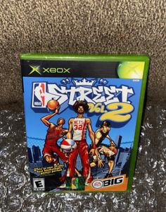 NBA Street Vol. 2 NEW SEALED! RARE BLACK LABEL JORDAN/DR J COVER Microsoft Xbox