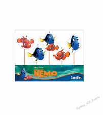 Finding Nemo Candles 5pk Party Supply Cake Toppers Decoration Under The Sea
