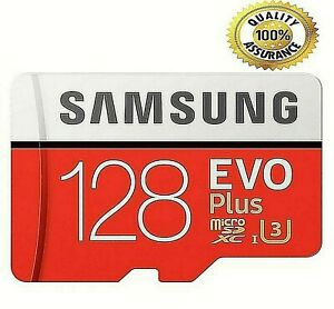 Evo plus NEW SD CARD - 128 GB Memory with adaptor SDXC  ☎️📱💻AAA TOP SELLER
