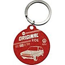 Volkswagen Golf Original Ride round keyring    (na)