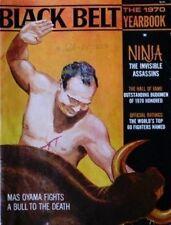 RARE 1970 BLACK BELT YEARBOOK MAS OYAMA KARATE KUNG FU NINJA MARTIAL ARTS