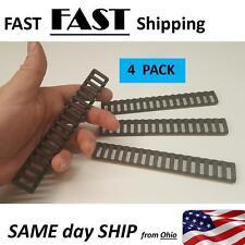4pcs Black 17 Slot Ladder Rail Cover Handguard Weaver Picatinny Heat Resistant