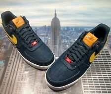 Nike iD By You Levi's x Air Force 1 Low Dark Denim Mens Size 11 CI5766 986 New