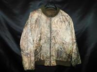 Herter's XL Brown Camo Coat Mossy Oak Duck Blind Camouflage Reversible Jacket