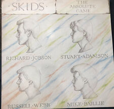 SKIDS: The Absolute Game UK Virgin 2174 Punk New Wave LP NM Wax