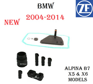Transmission Filter Kit With Valve Body Sleeves Kit For 04-10 BMW B7, X5, X6 ZF