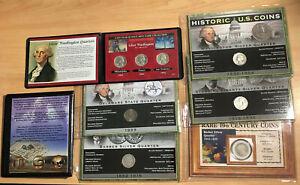 $2 face value HISTORIC SILVER QUARTERS  Barber - Standing Liberty - Washington