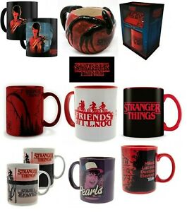 Official Stranger Things Mug Cup Novelty Gift Upside Down Mind Flayer
