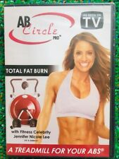 Ab Circle Pro - Total Fat Burn - Treadmill For Your Abs Fitness, DVD Only - NEW!