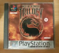 Mortal Kombat Trilogy Sony PlayStation PS1 Complete - PAL - Tested - Free UK P&P