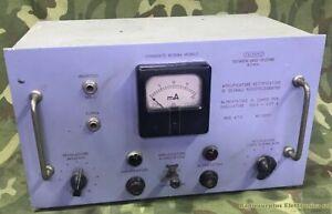 Amplificatore/Alimentatore di Segnali Radiotelegrafici T.R.T. ROMA mod. AT3 n.02
