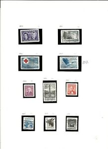 CANADA(M184)1952-51 SG440-524 RANGE 80 STAMPS GOOD CAT READ DISCRIPTION MM /USED