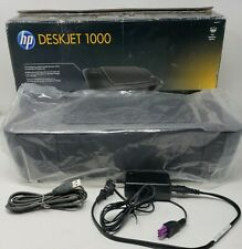 HP Deskjet 1000 J110A Injet Printer w/ Power Cable, USB Cable and Original Box