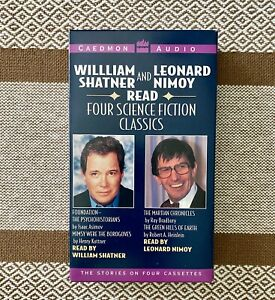 Four Science Fiction Classics Read by William Shatner & Leonard Nimoy 1994