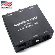 USB DMX512 LED light DMX-Stage Signal Isolation Amplifiers AMP Splitter US Stock