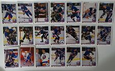 1990-91 Upper Deck UD New York Islanders Team Set of 20 Hockey Cards