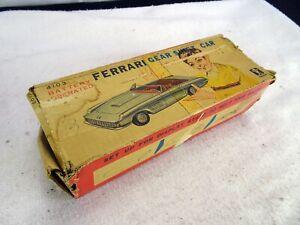 Vintage 1960's Bandai 4103 Ferrari Gear Shift Car with Original Box