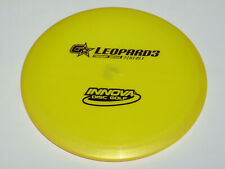Disc Golf Innova Gstar Leopard3 Understable Fairway Driver Disk 175g Yellow