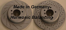 Fits 12-15 BMW 335i  Drilled Slotted Harmonically Balanced Front Rotors