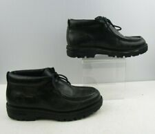 Mens Timberland Black Leather Ankle Boots Size : 11 M