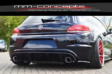 Cup Diffusor Ansatz SET Seite für VW Scirocco 3 III R Bj. 09-14 Heck Ansatz INE