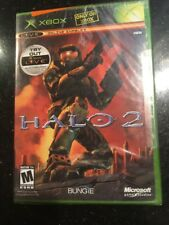 HALO 2 MICROSOFT XBOX VIDEO GAME BRAND NEW FACTORY SEALED BLACK LABEL