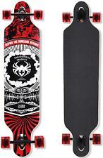 New listing QingAn Longboard Skateboard, 41-Inch Downhill Skateboard Through Deck 8-Layer