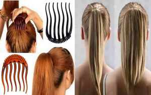 Coiffure Peigne pour Cheveux Twister Bouffant Topsy Tail Einsteckkamm Sch