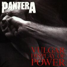 PANTERA - VULGAR DISPLAY OF POWER CD ~ PHIL ANSELMO~DIMEBAG DARRELL *NEW*