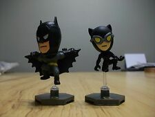 DC Comics Grab Zags Blind Bag Batman & Catwoman Mini Figures W/ Stands
