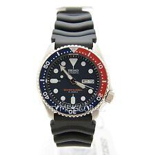 Seiko SKX009J1 Japan Dark Blue Dial Diver's 200M Black Rubber Automatic Watch