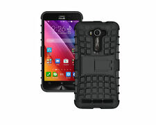 """Asus Zenfone 2 Laser ZE550KL 5.5"""" Armor Defender Hybrid kick stand Cover Case"""