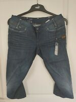 Jean Pantacourt femme G-Star Berlin tapered cropped women taille 38 (W28) neuf