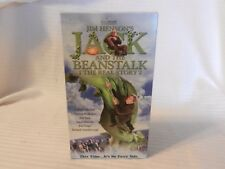 Jim Henson's Jack and the Beanstalk The Real Story (VHS, 2002)