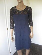 Ashley Brooke zauberhaftes Kleid / Abendkleid / Festliches Kleid  Gr. 38 Blau