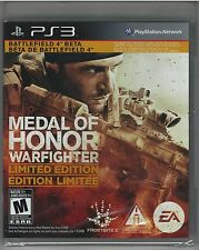 Medal of Honor: Warfighter -- Limited Edition PlayStation 3 **NEW**SEALED**