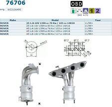 Pot catalytique Rover 25 1.4i 16V 103cv 14K16 11/99>, antérieur OFFRE USINE