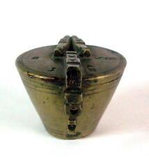 antikes Topfgewicht -  Bechergewicht  mit 4 Punzen