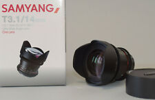 Samyang T 3,1/14 mm ED AS IF UMCII Cine Lens for Nikon AF
