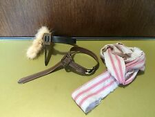 1/6 scale Hot Toys DX06 Pirates Of The Caribbean Jack Sparrow belts (x2) + scarf