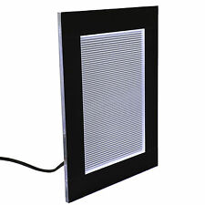LED Light Panel 6x8 Inches - Lithophane Lighting with On/Off Switch on Back