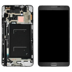 OEM Samsung Galaxy Note 3 N900A N900V LCD Screen Digitizer Frame Black White