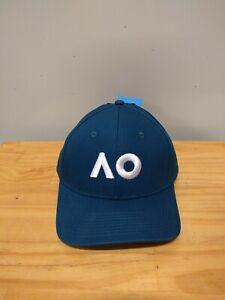 NEW Australian Open Offcial 2019 Logo Cap AO19H01 Tennis Merchandise- Navy White