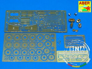 Aber Photo-etched parts for 1/24 Aston Martin DBS for Tamiya kit #24028