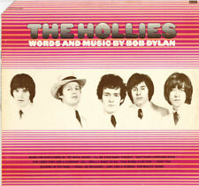 The Hollies ‎– Words And Music By Bob Dylan   LP VG++