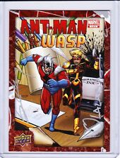 Ant-Man Movie Comic Covers Dual Autograph Card AM-VS