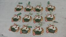 Lot of 12 Midwest Of Cannon Falls Christmas Ornaments