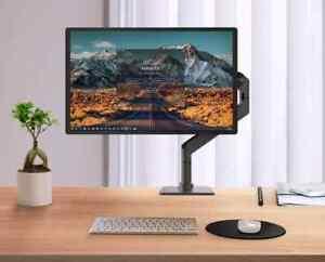 Adjustable Aluminum Single Monitor Mount Mechanical Spring Desk Arm Stand Riser