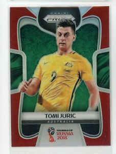 2018 Tomi Juric 006/149 Panini Prizm Red Fifa World Cup Russia 2018