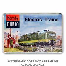 HORNBY DUBLO - ELECTRIC TRAINS CATALOGUE ART JUMBO FRIDGE /LOCKER MAGNET